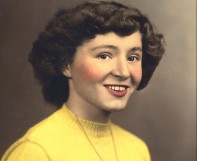 Young Janell colored portait.