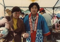 Janell and Mrs. Hiroi